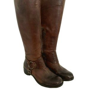 7.5M Vince Camuto Women's Harness Riding Brown